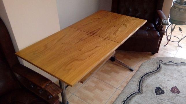 Stół rozkładany z regulowaną wysokością