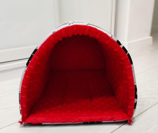 Tunelo-budka domek budka tunel dla gryzoni królika świnki jeża fretki