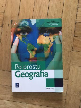 Po prostu geografia podręcznik zakres podstawowy WSiP ponadgimnazjalne