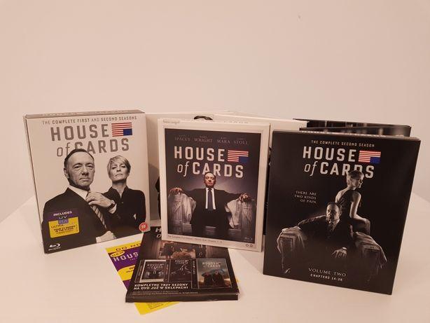 House of Cards, Sezony 1-2 na Blu-ray
