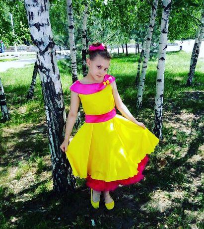 Платье нарядное на выпускной