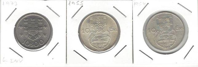 10 Escudos (1954 e 1955 e 1974)