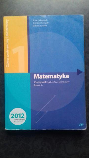 Podręcznik do liceum matematyka 1