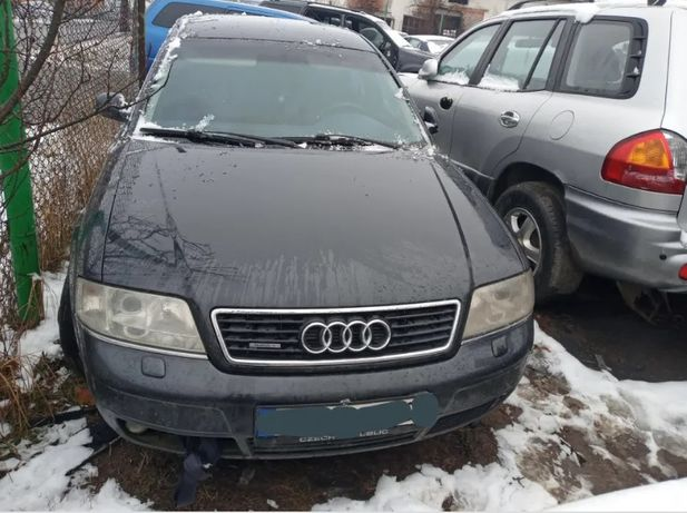 Audi a6c5 a6 c5 quattro розборка шрот разборка 2.5 на запчасти капот