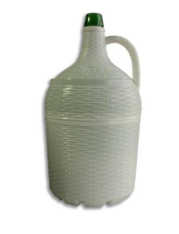 40 Garrafões em vidro revestidos de plástico, de 5 litros
