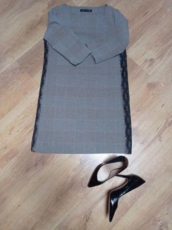 Sukienka Zara r.S komunia wesele biuro