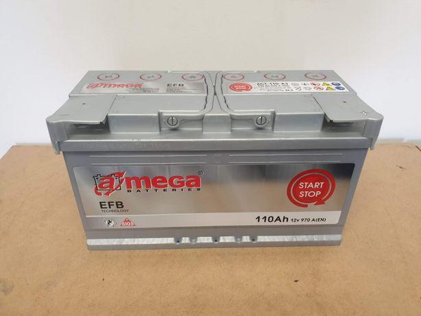 Akumulator Amega EFB 110Ah 970A Start-Stop
