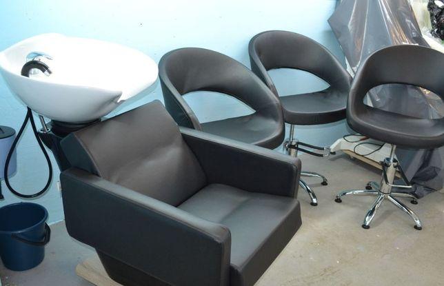 Парикмахерская мойка + кресло парикмахерское
