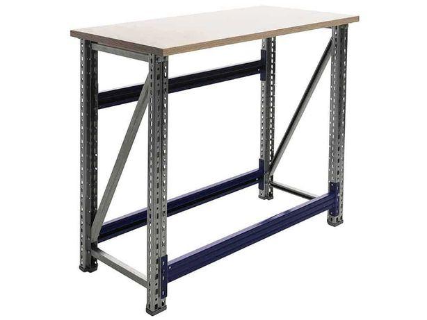 Stół warsztatowy M2 - garaż warsztat szkoła hala