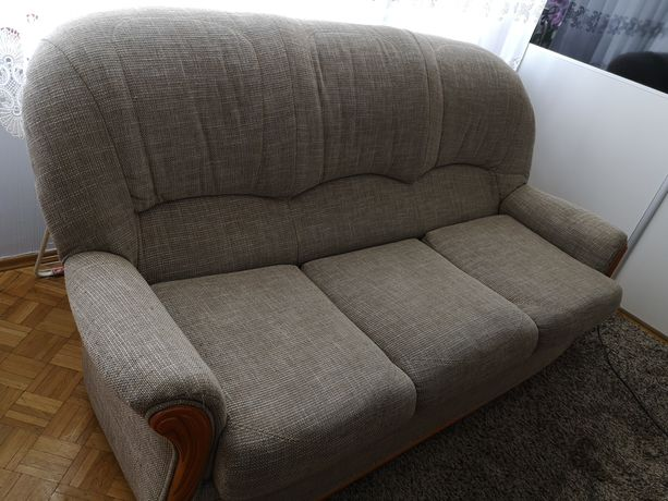 Kanapa + dwa fotele