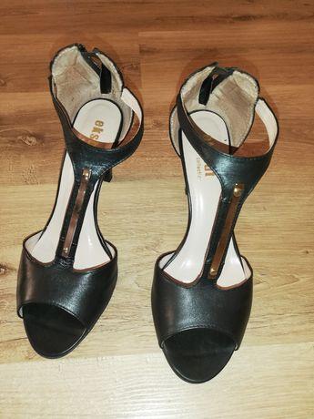 Sandały skórzane Eksbut