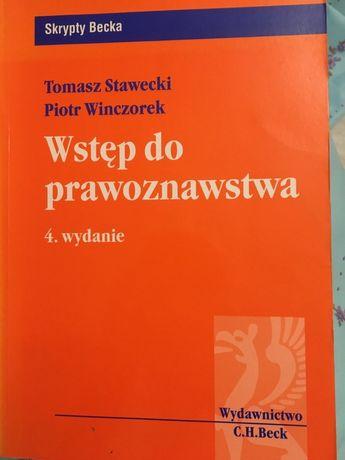 Wstęp do prawoznawstwa Winczorek Stawecki
