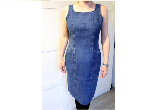 Sukienka jeansowa TBS r. XL/42