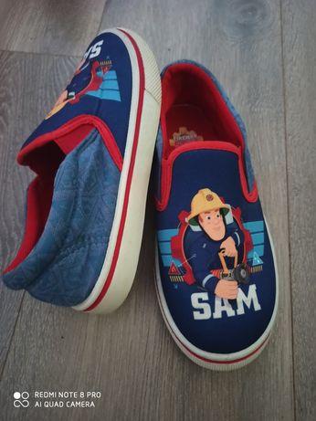 Мокасины для мальчика пожарник Сем