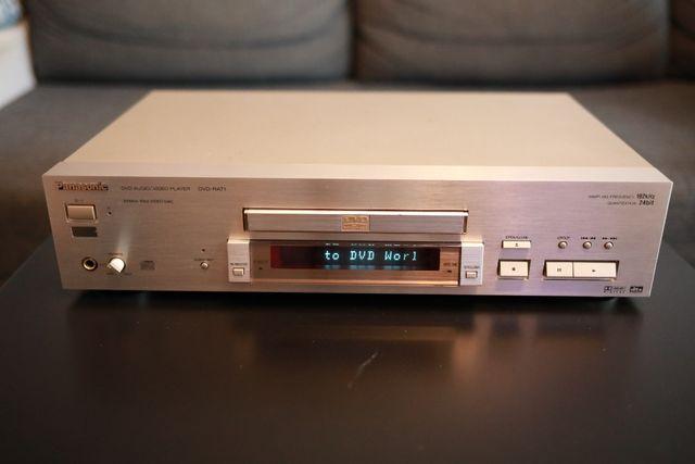Odtwarzacz DVD Panasonic RA-71 szampański + pilot