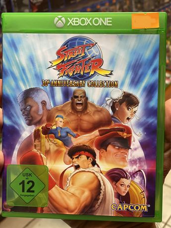 Street Fighter 30 Unniversary Collection Xbox One *Sklep Bytom