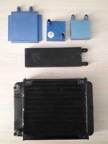 Радиатор водяного охлаждение компьютера.