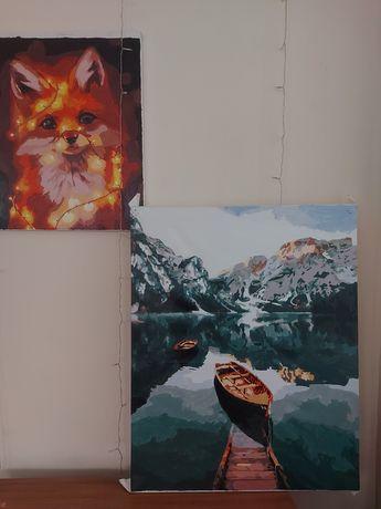 Картина 60×75 акварель