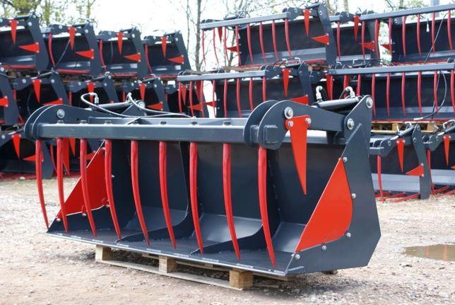 OSTATNIE SZTUKI Łyżko-krokodyl na ciągnik rolniczy traktor ładowacz