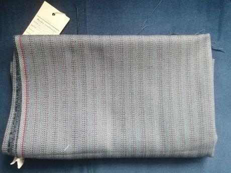 Tkanina materiał, ubraniowa PRL