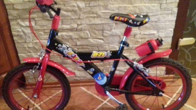Lekki rowerek dziecięcy Dino 16 cali