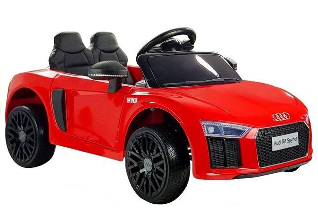 Carro Elétrico Criança Audi R8 Spyder 12V Bateria - Portes Grátis