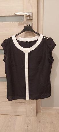 Bluzeczka biało czarna