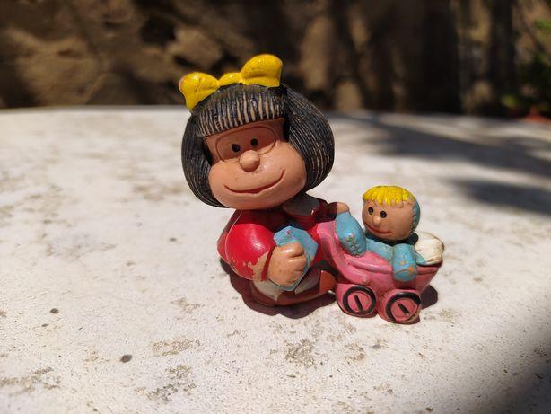 Mafalda com bebé anos 80 made in Portugal