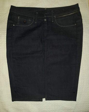 Брендовая джинсовая юбка G- star raw