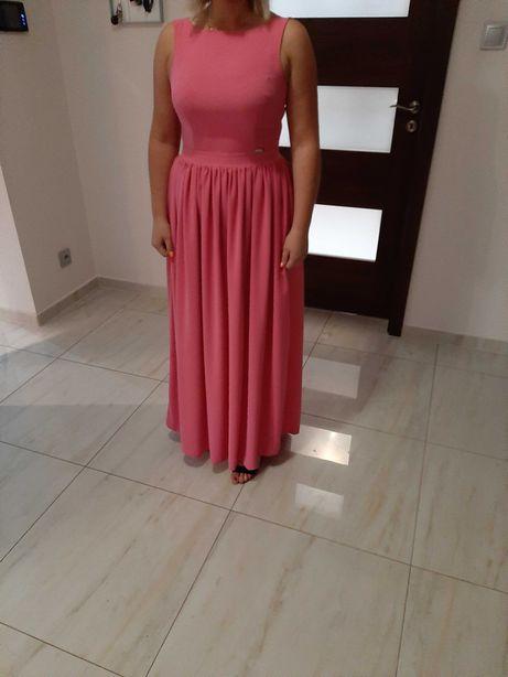 Dluga sukienka , zalozona raz, stan idealny