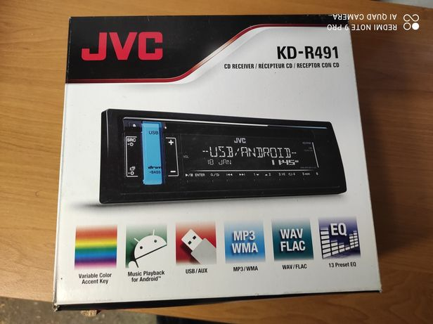 Radio JVC Kd-R491