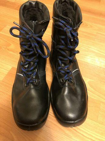 Рабочие ботинки металлическим носком. Р 40