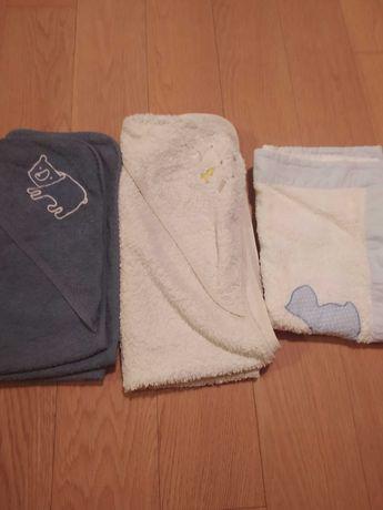 Toalhas de banho para bebé