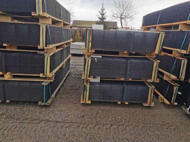 Panel ogrodzeniowy wys. 133 komplet, ogrodzenia ,podmurówka,obejmy