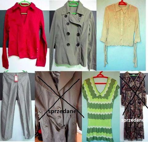 MONNARI H&M PROMOD zestaw płaszcz suknia koszula damski rozmiar 38