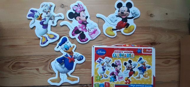 Puzzle dla najmłodszych Trefl, myszka Miki, Fischer Price