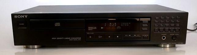 Sony CD CDP odtwarzacz 1-bit czarny do dużej wieży Made in France