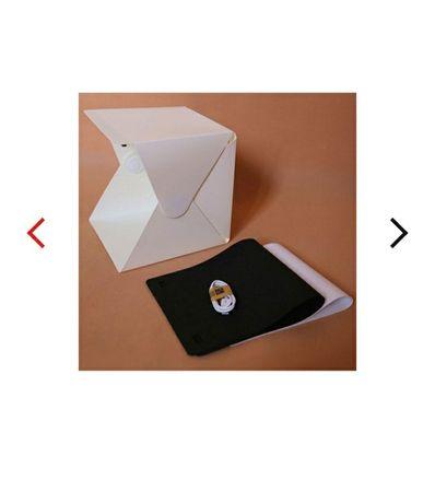 Stół bezcieniowy przenośny mini box do zdjęć