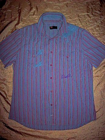 Бренд Diesel летняя треккинговая рубашка шведка-оригинал