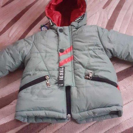 Зимняя куртка рост 86