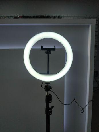 Світлодіодна кільцева LED лампа 26см + штатив ( сет для блогера)