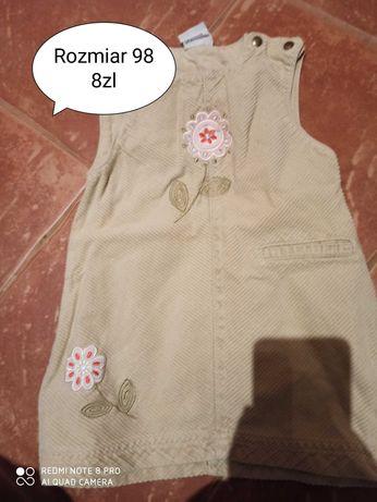 Ubrania dla diwczynki, ruzne rozmiary.