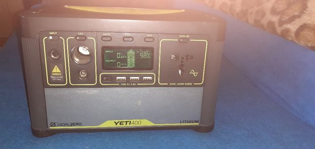 Goal Zero Yeti 400 + Nomad 100Watt