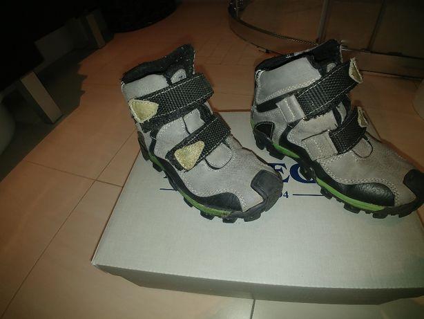 Zimowe buty Kornecki rozmiar 27, skórzane