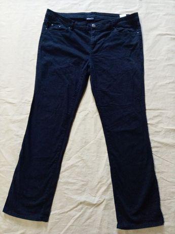 женские котоновые джинсы-54 размер.