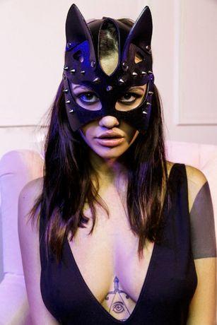 Женская эротическая маска кошки с шипами! ЖМИ!!!