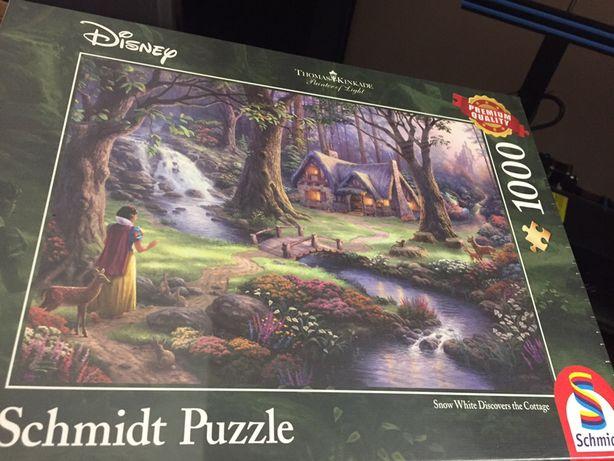 Puzzle 1000 Królewna Śniezka T. Kinkade