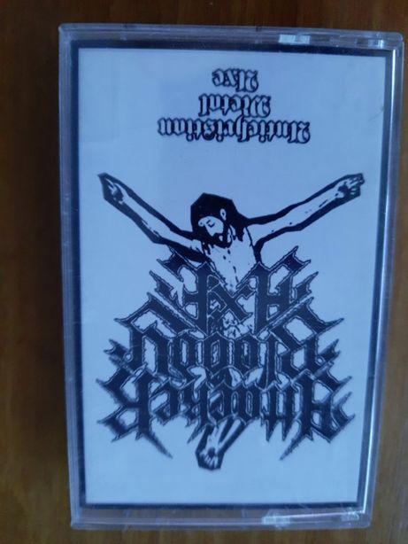 ATTACKER BLOODY AXE - Antichristian Metal Axe - black/thrash