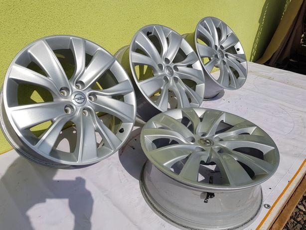 """Felgi aluminiowe oryginalne Opel 18"""" 5x115 z czujnikami Astra J Diesel"""