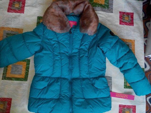 Catherine Malandrino шикарная куртка 150-160 рост